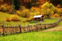 Casa pequena na floresta Fotografia de Stock
