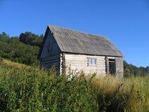 Casa pequena nas montanhas Imagem de Stock