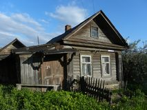 Casa pequena rural Imagens de Stock Royalty Free