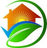 Casa per futuro luminoso Immagine Stock Libera da Diritti