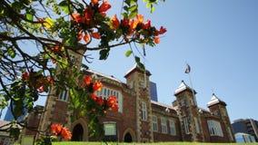 Casa Perth del gobierno almacen de metraje de vídeo