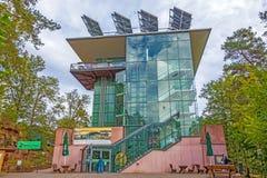 Casa Pfaelzerwald/Nordvogesen di biosfera fotografia stock libera da diritti