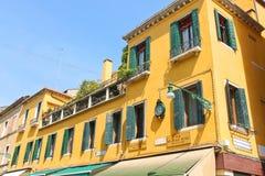 Casa pintoresca en Venecia, Italia imagen de archivo