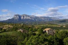 Casa pirineos Stock Image
