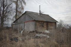 Casa pobre Imagen de archivo libre de regalías