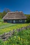 Casa polaca Imagen de archivo libre de regalías
