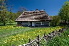 Casa polaca vieja Fotos de archivo
