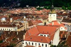Casa popolare, Brasov, Romania Fotografie Stock Libere da Diritti