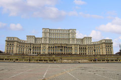 Casa Poporului, Bucharest Royalty Free Stock Photography