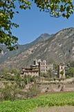 Casa popular tibetana Fotos de archivo