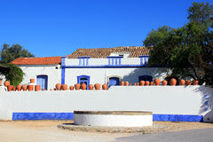 Casa portoghese tipica Fotografia Stock Libera da Diritti
