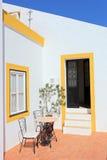 Casa portoghese tradizionale nella regione del Algarve Immagine Stock Libera da Diritti