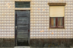 Casa portuguesa de la teja - azulejo 3 Imagenes de archivo