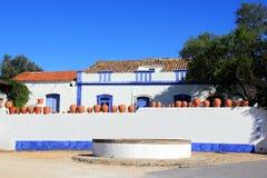 Casa portuguesa típica Foto de Stock Royalty Free