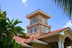 Casa/prédio de escritórios do clube imagem de stock royalty free