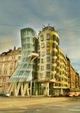 Casa Praga di Dancing Fotografia Stock Libera da Diritti