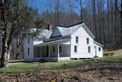 Casa preservada en el Smokies imagenes de archivo