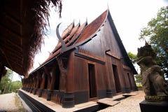 A casa preta Fotografia de Stock Royalty Free