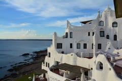 Casa-Pueblo in Punta del Este Uruguay stockfoto
