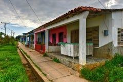 Casa - Puerto Esperanza, Cuba imagem de stock