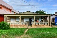 Casa - Puerto Esperanza, Cuba fotos de stock