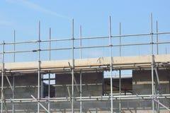 Casa que está sendo construída Foto de Stock