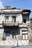 Casa quebrada Imagenes de archivo