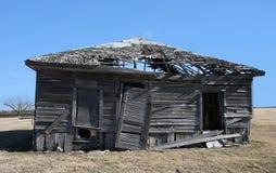 Casa quebrada Imagens de Stock Royalty Free