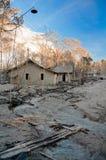 Casa quebrada y establecimiento Fotografía de archivo libre de regalías
