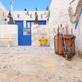 Casa rústica en Caleta de Sebo, Graciosa, las Canarias Imágenes de archivo libres de regalías