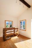 Casa rústica interior Foto de Stock Royalty Free