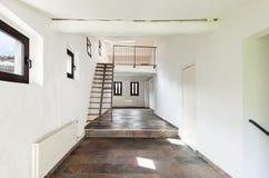Casa rústica interior fotografia de stock royalty free