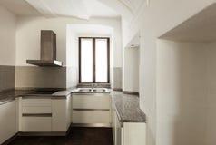 Casa rústica interior, cozinha Fotografia de Stock