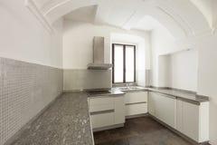 Casa rústica interior, cozinha Fotografia de Stock Royalty Free