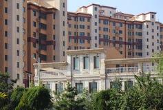 Casa, área residencial, Beijing, China Foto de Stock
