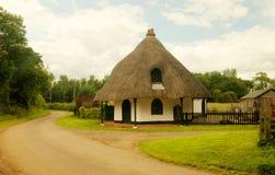 A casa redonda, Langton-Por-Spilsby, Foto de Stock Royalty Free