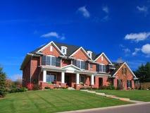 Casa residencial Foto de Stock Royalty Free