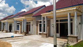 Casa residencial de bens imobiliários Imagens de Stock