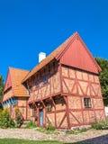 Casa residencial en Ystad Foto de archivo libre de regalías