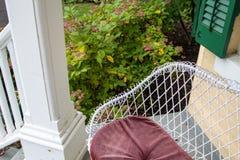 Casa residencial Front Porch Patio foto de stock royalty free