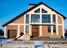 Casa residencial nova Fotos de Stock Royalty Free