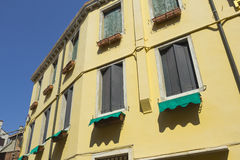 Casa residencial venetian típica imagens de stock royalty free