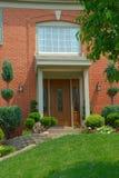 Casa residenziale del mattone di 2 storie Immagine Stock Libera da Diritti