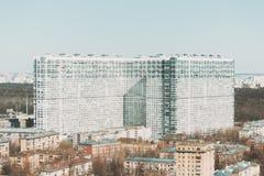 Casa residenziale enorme Fotografia Stock Libera da Diritti