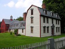 Casa restaurada fotos de stock