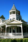 Casa restaurada do Victorian. Imagem de Stock