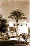 Casa retra en Egipto Imágenes de archivo libres de regalías
