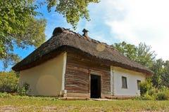 Casa retra ucraniana Imagen de archivo