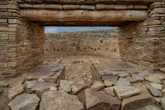 Casa Rinconada Kiva Royalty Free Stock Photography