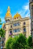 Casa Rocamora or Casa Lleo Morera Stock Images